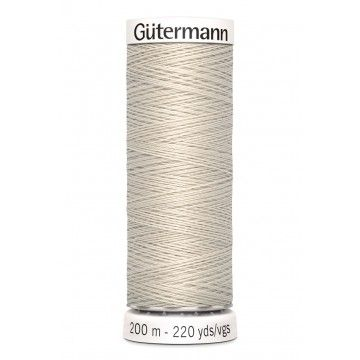 Gütermann 200 meter naaigaren -  oud linnen