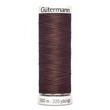 Gütermann 200 meter naaigaren - bruin
