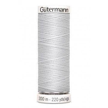 Gütermann 200 meter naaigaren - licht grijs