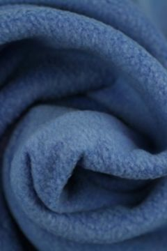 Blauwe fleece