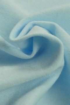 katoenen tricot licht blauw