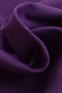 katoenen tricot donker paars