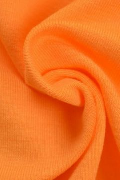 katoenen tricot oranje