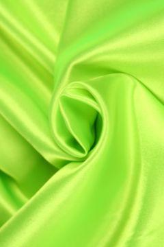 Neon Groene Satijn