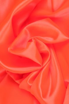 Neon Oranje Satijn