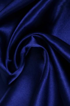 Kobalt Blauwe Satijn