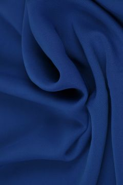 Blauwe Chiffon
