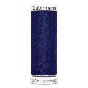 Gütermann 200 meter naaigaren - donker kobalt