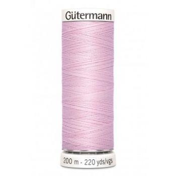 Gütermann 200 meter naaigaren - licht roze