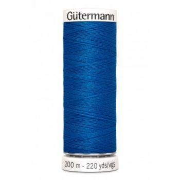 Gütermann 200 meter naaigaren - fel blauw