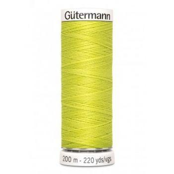Gütermann 200 meter naaigaren - gifgroen