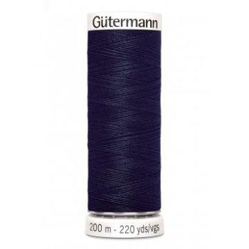 Gütermann 200 meter naaigaren - donkerder blauw