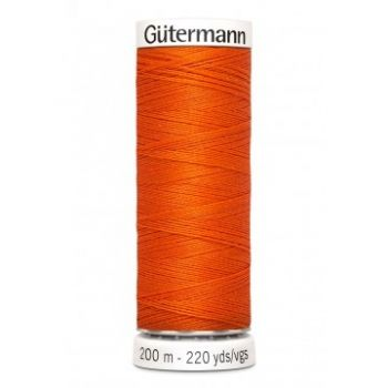 Gütermann 200 meter naaigaren - diep oranje