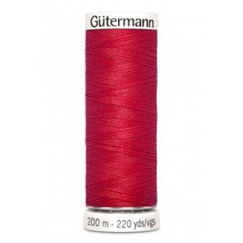 Gütermann 200 meter naaigaren - helder rood