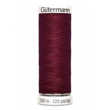 Gütermann 200 meter naaigaren - donker rood