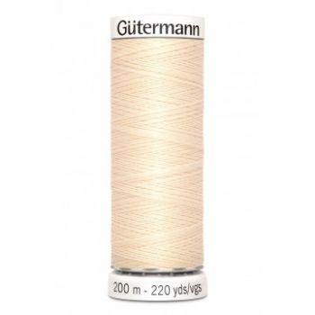 Gütermann 200 meter naaigaren - ecru