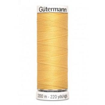 Gütermann 200 meter naaigaren - mosterd