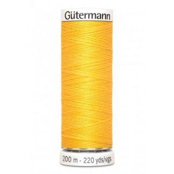 Gütermann 200 meter naaigaren - zonnebloem geel