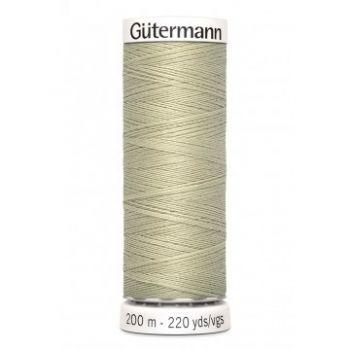 Gütermann 200 meter naaigaren - beige kaki