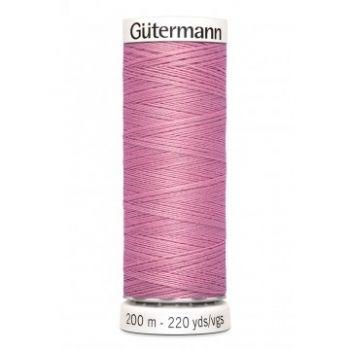 Gütermann 200 meter naaigaren - vintage roze