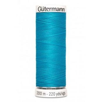Gütermann 200 meter naaigaren - aqua