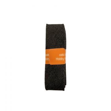 Oaki Doki Schrägband Jeans - Black - 2m