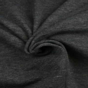 Sweatshirtstoff Dunkel Grau