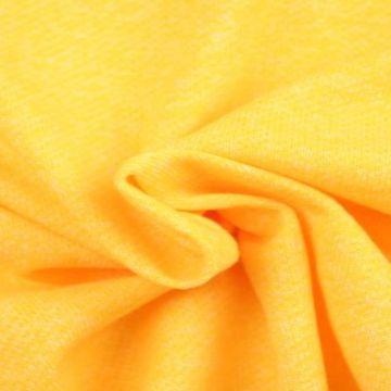 Sweatshirtstoff Melange Gelb