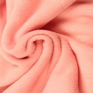 Zalm Roze Anti Pilling Fleece