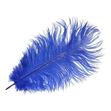 Feder Blau - 22 cm