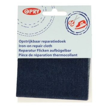 Reparatiedoek Jeans Donker Blauw