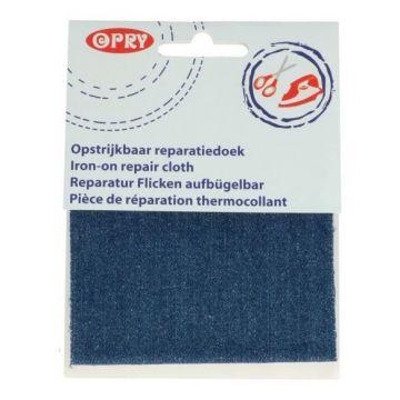 Reparatiedoek Jeans Midden Blauw