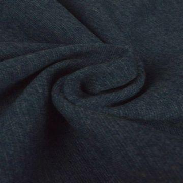 boordstof gemeleerd antraciet grijs