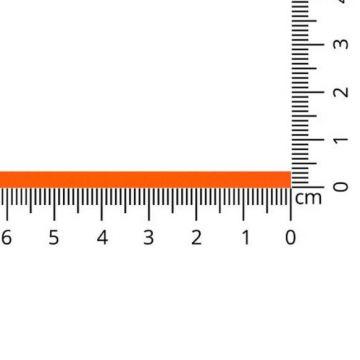 Luxes Satin Band 3 mm-997 - Neon Orange