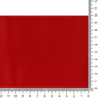 Luxes Satin Band 100 mm - 25 - Red