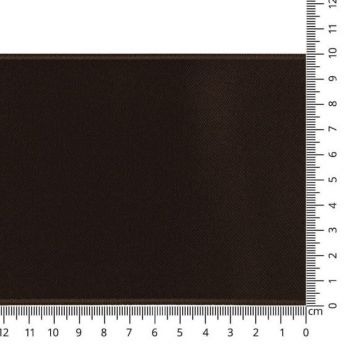 Luxes Satin Band 100 mm - 46 - Deep Brown
