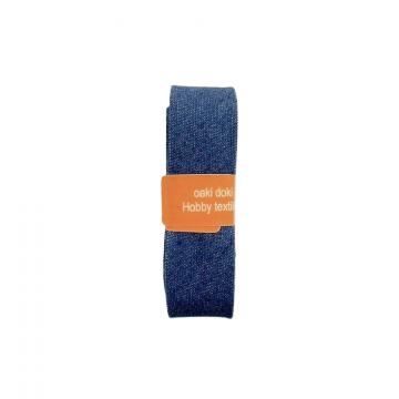 Oaki Doki Schrägband Jeans - Blue - 2m