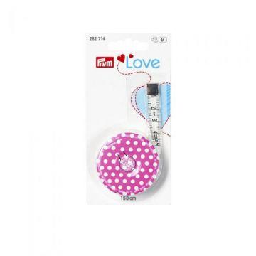 Prym Love Pink - Rollmaßband Mini
