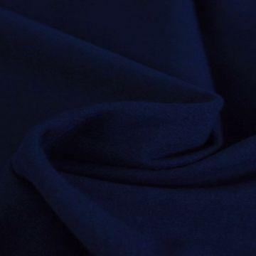 katoenen tricot jersey navy