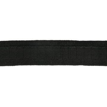 Gardinen Faltenband 25mm-000 - Schwarz