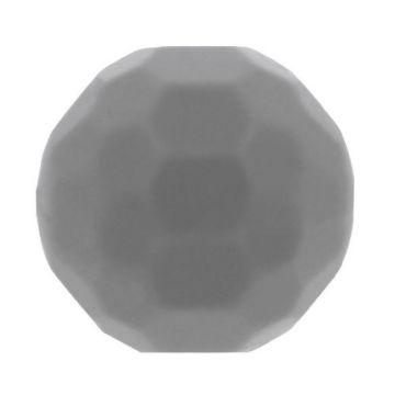 Opry Silikon Perlen Diamant 16mm - Dunkel Grau