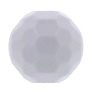 Opry Silikon Perlen Diamant 16mm - Maus Grau