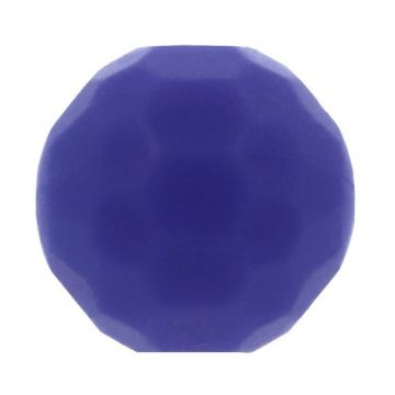Opry Silikon Perlen Diamant 16mm - Blau/Violet