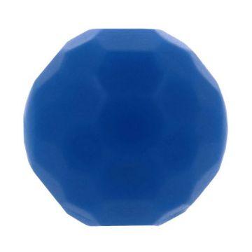 Opry Silikon Perlen Diamant 16mm - Kobalt