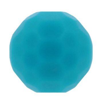 Opry Silikon Perlen Diamant 16mm - Petrol