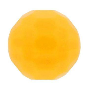Opry Silikon Perlen Diamant 16mm - Dunkel Gelb