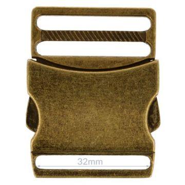 Opry Steckschnalle - Old Gold - 32mm