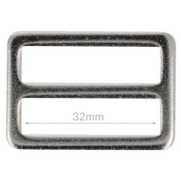 Opry Vierkantring Flache -Nikkel - 32mm