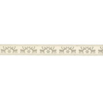 Rentier Band 15mm - Grau
