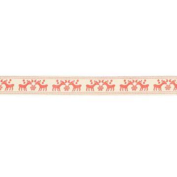 Rentier Band 15mm - Röt